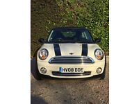 WHITE MINI COOPER EURO4 AA 3 DOOR HATCHBACK- ONE LADY OWNER