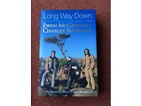 LONG WAY DOWN-JOHN O'GROATS TO CAPETOWN EWAN McGREGOR & CHARLEY BOORMAN-NEW