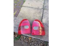 Vauxhall Corsa B rear lights 1993-2000 tail lamps 3 door