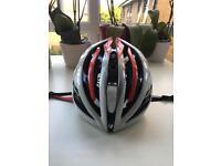 Bontrager Velocis Road Bike Helmet Small Red/White/Black RRP £150