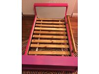 Ikea Children's Extendable Bed with Bed Guard
