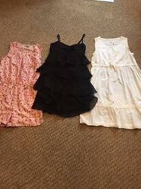 Girls age 11-12 dress bundle