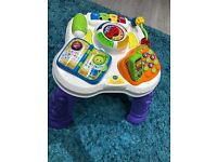 Leapfrog learn and groove activity table