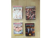 DESPERATE HOUSEWIVES SERIES 1, 2, 3, 4 DVD