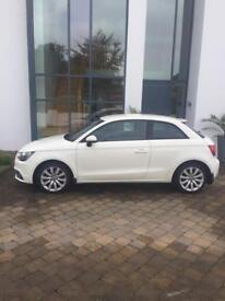 Audi A1 2011 plate