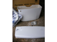 BRAND NEW IN PACKAGING Classi Style Twyford Toilet Cistern with additional Chrome flush pipe