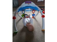 Fisher and Price baby gym