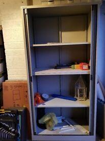 Bisley locker, cabinate, shelves, shelving unit, garage storage
