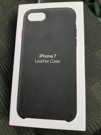 Iphone 7 genuine Apple leather case