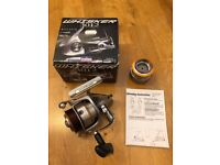 Daiwa Whisker 3012 Fishing Reel with Spare Spool