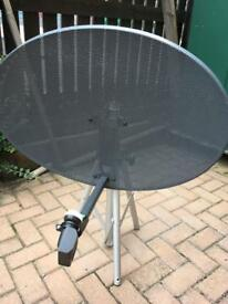 Sky Dish on tripod
