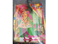 Clown lady costume size M