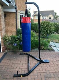 Punch Bag and Boxing Stand