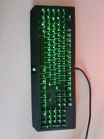 Razer Blackwidow Ultimate Mechanical Keyboard - perfect condition