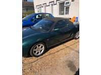 Mgf 2 seater sports car REDUCED PRICE THIS WEEK ONLY