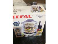 Steamer Tefal 1000 brand new