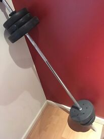 20kg Pro Power Barbell Set