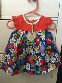 Little Bird by Jools Oliver floral dress and pants 6-9months BNWT