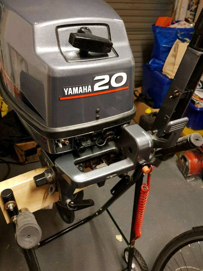 Yamaha 20hp 2 Stroke Outboard Engine Standard Shaft | in Exmouth, Devon |  Gumtree