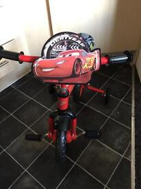 Lightning McQueen balance bike/1st bike