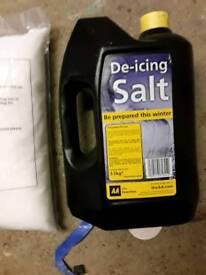 Job lot 10 bags and 1 bottle di icing salt