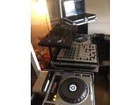 Pioneer mk2 800 mixer and flight case Ono
