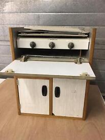 Vw campervan stove and storage
