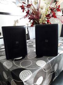 Pair of ClearOne 80w Speakers, Model number LS5WT
