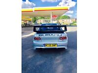 Subaru Impreza v1 Sti rocket of a car!!