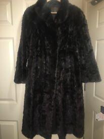 100% genuine mink fur coat