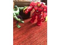 Marvel Hulk Buster & Hulk Toy Figures
