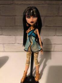 Cleo de nile monster high doll -ULTRA RARE ORIGINAL DOLL