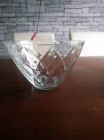 Glass large bowl