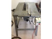 German Manufactured Contractors Bench Saw