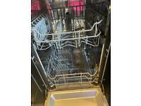 Kenwood Black Slimline Dishwasher