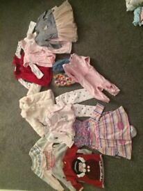 Baby clothes bundle (6-9 months)