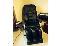 *** SOLD ***. Leather Massage Chair - Massive Price Reduction £350 (was £2,500 when new)
