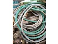 Pond hose pipe or for draining large amounts of water