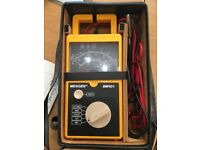 Megger BM101 Electrical Tester in original case and accessories