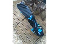 Junior Golf Clubs Right Handed with bag and extras