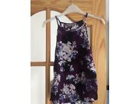 Ladies size 10 Dorothy Perkins vest top