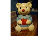 Cute cookie jar, genuine 80s and in perfect condition
