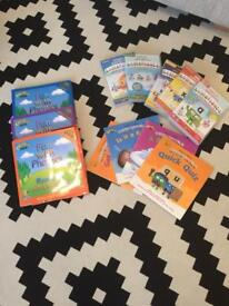 Alphablocks DVD's and BBC's fun with phonics dvds