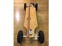 Evolve Bamboo Electric Skateboard Powered Board Battery 2 in 1 - Street & All Terrain Off Raod