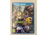 STARFOX FOR Wii U - OPEN AND PLAYED ONCE - MINT CONDITION!