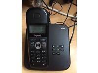 GIGASET AS185 phone with answering machine