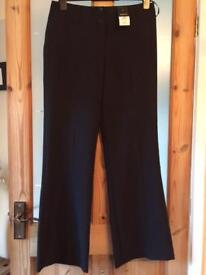 Bootcut trousers size 12