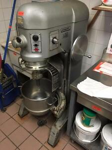 Hobart 60 Quart Dough Mixer With Guard - AUCTION THURSDAY MARCH 30th - STOREY'S Restaurant Equipment Dealer Freezer