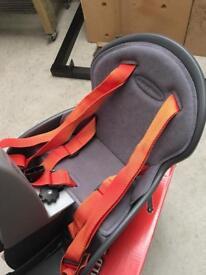 Weeride children's bike seat.