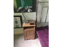 Two good condition bedside cabinets for sale